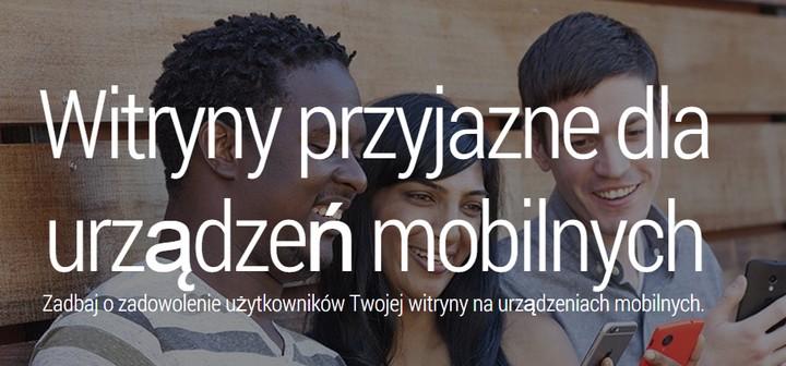 Witryny przyjazne dla urządzeń mobilnych