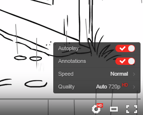 Nowy wygląd opcji w odtwarzaczu YouTube