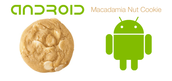 Android M to Macadamia Nut Cookie?