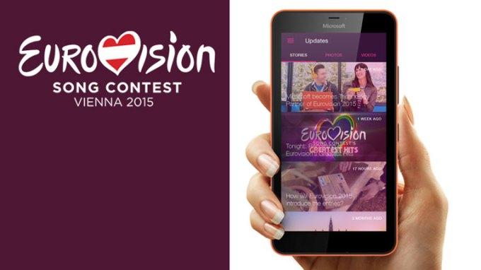 Eurowizja 2015 - aplikacja mobilna