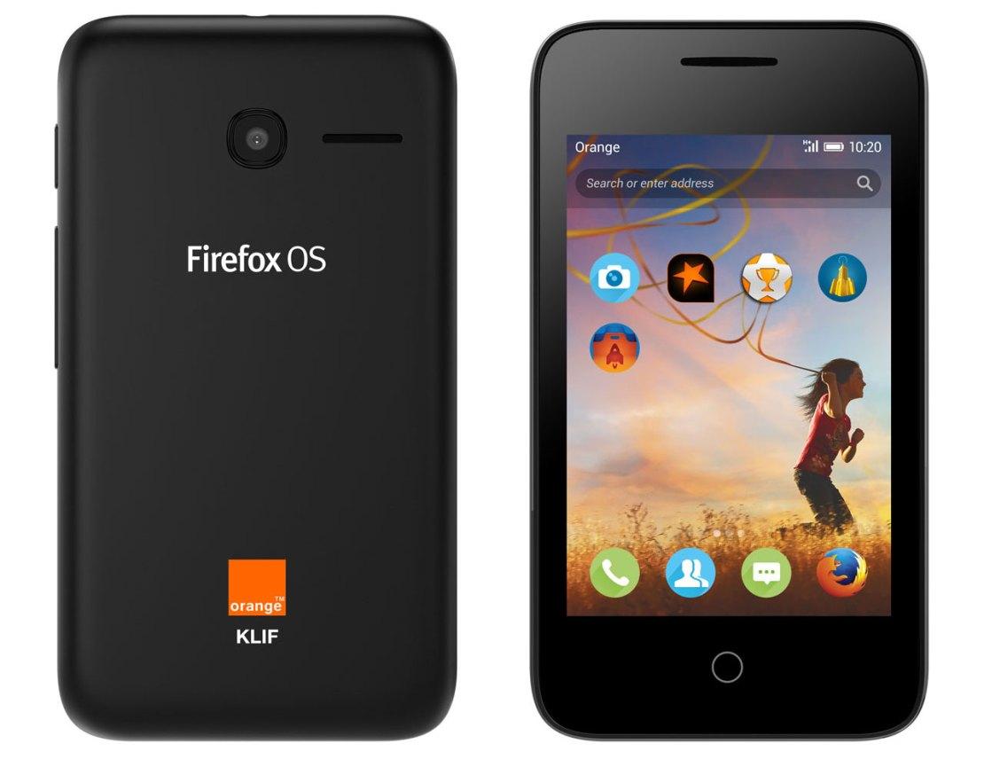 Alcatel Onetouch z Forifox OS w Orange Klif