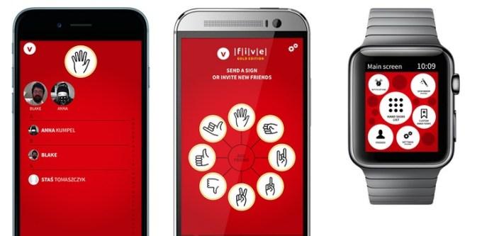 Aplikacja mobilna Five App