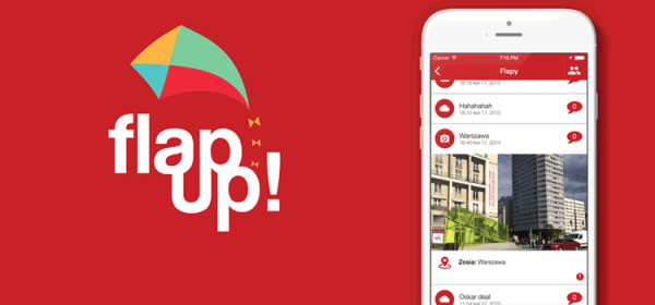 Flap Up! – poznawaj nowych ludzi, miejsca i wydarzenia