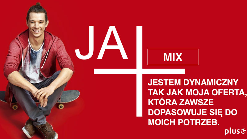 JA+ MIX w sieci Plus GSM