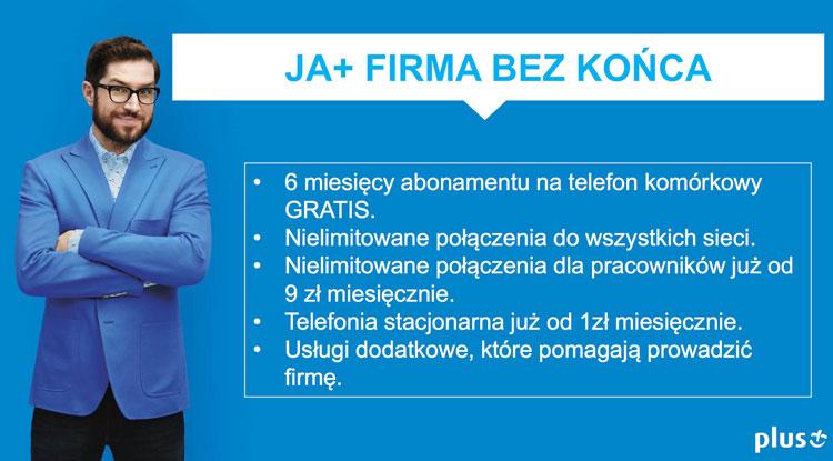 JA+ Firma w sieci Plus GSM