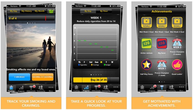 Livestrong MyQuit Coach – Dare to Quite Smoking