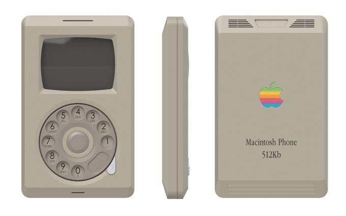 Macintosh iPhone koncept 1984