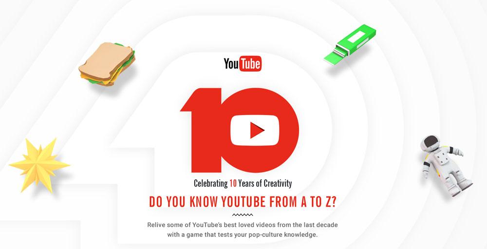 Czy znasz serwis YouTube od A do Z? quiz