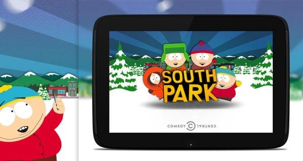 Oglądaj South Park na tablecie lub smartfonie