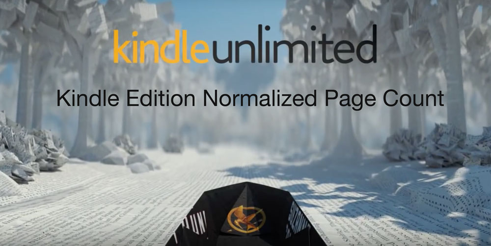 system rozliczeń Kindle Edition Normalized Page Count w Kindle Unlimited
