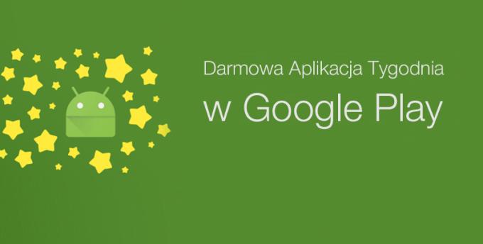 Darmowa Aplikacja Tygodnia w sklepie Google Play (banner)