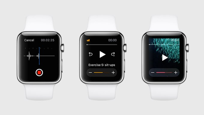 Apple Watch odtwarzanie audio i wideo