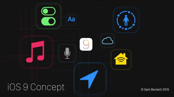 Koncept iOS-a 9, który najbardziej może się sprawdzić