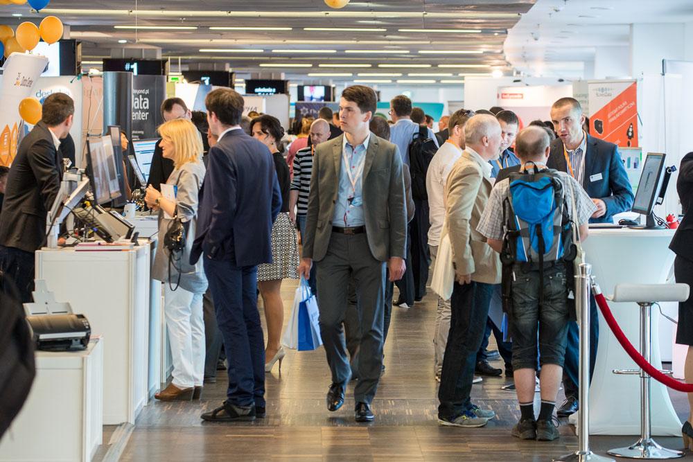 Targi IT Future Expo 2015 w Warszawie - hala