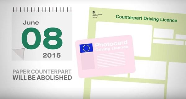 Elektroniczne prawo jazdy w Wielkiej Brytanii