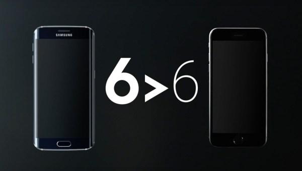 "Kampania Samsunga ""6 > 6"" kontra iPhone"