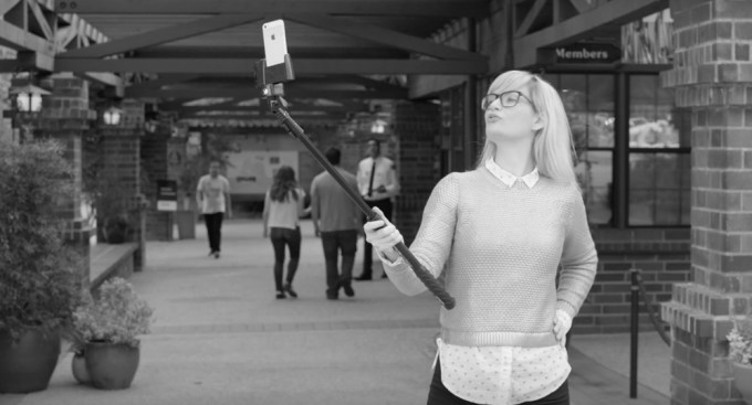 Kijek selfie (selfie stick)