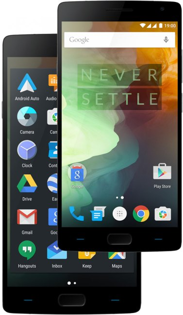 Przód smartfona OnePlus 2
