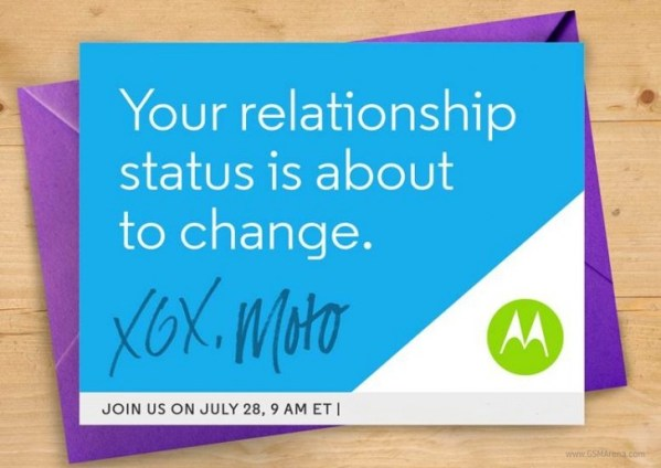 Motorola pokaże nowe smartfony 28 lipca
