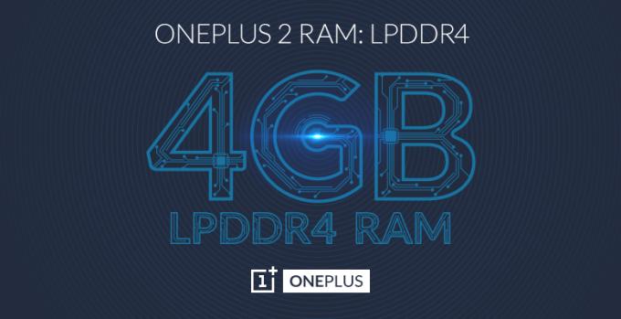 OnePlus 2 będzie miał 4 GB pamięci LPDDR4 RAM