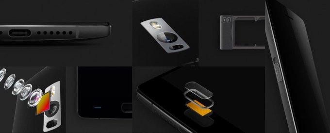 Elementy smartfona OnePlus 2