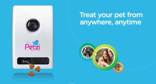 Nakarm psa lub kota przez smartfona