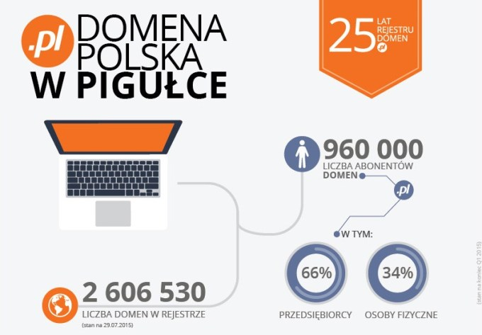 Polska domena (.pl) ma już 25 lat!