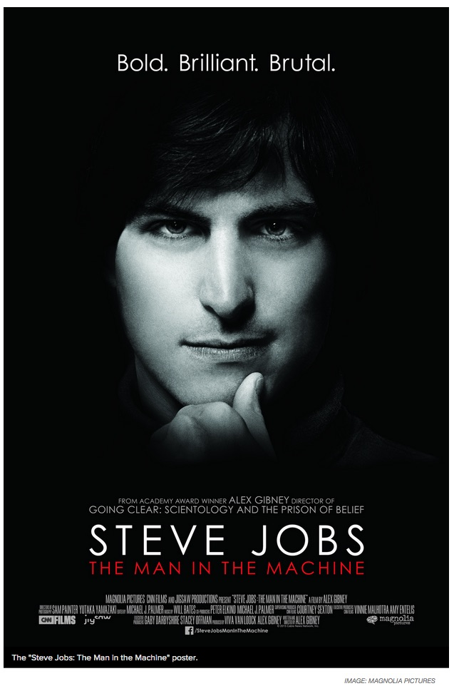 Plakat filmu: Steve Jobs: The Man in the Machine