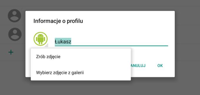 Instrukcja zmiany zdjęcia profilowego w Androidzie (krok 4)