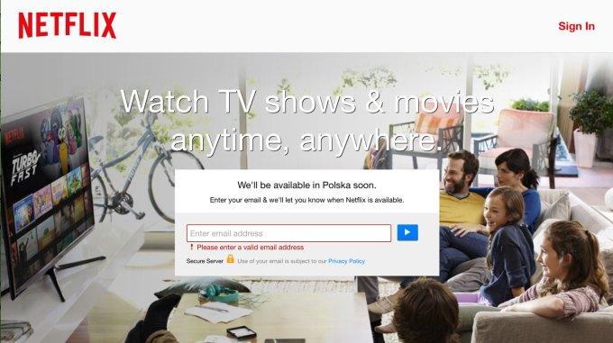 Netflix wkrótce będzie dostępny w Polsce.