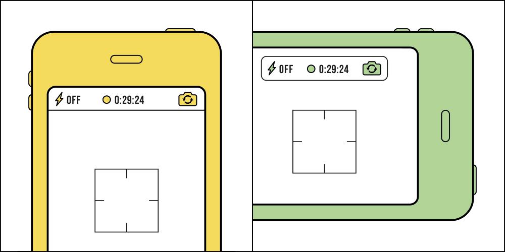 Sposób robienia zdjęć smartfonem (poziomo, czy pionowo?)