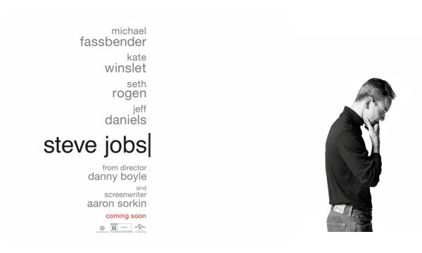 Plakat filmu Steve Jobs jest całkiem niezły