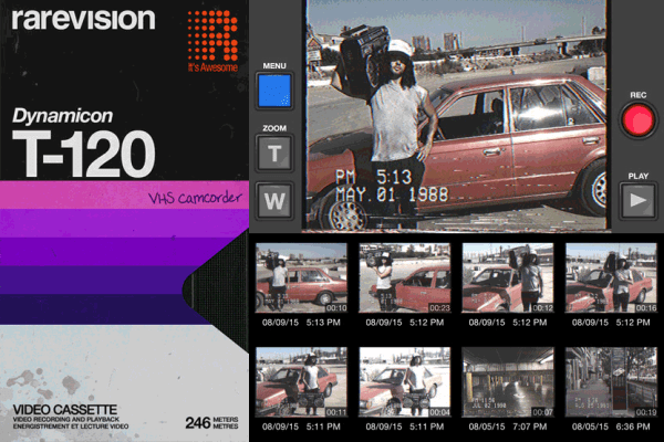 VHS Camcorder – nagraj smartfonem film w jakości VHS