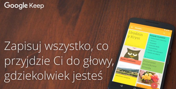 Google Keep na iOS-a i Androida