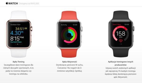 Apple Watch od 9 października w Polsce