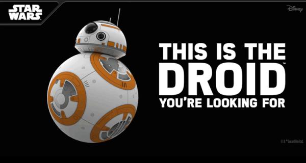 Mobilny BB-8 od Sphero to zabawka dla każdego