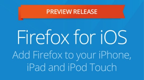 Firefox na iOS-a w wersji Preview
