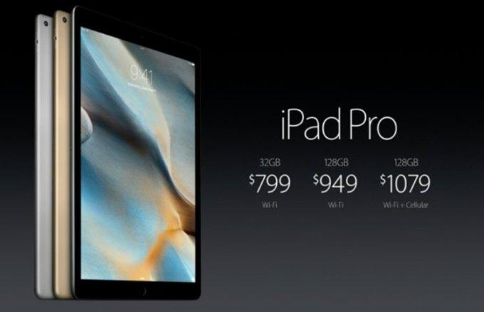 iPad Pro - cena