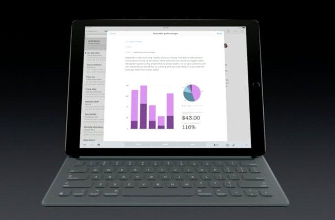 iPad Pro - klawiatura