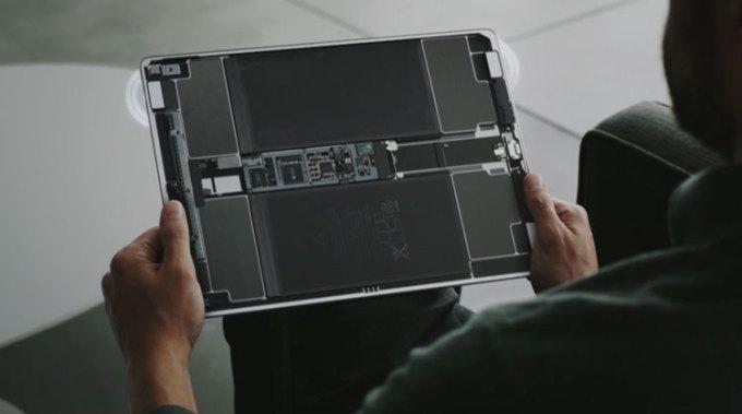 iPad Pro w środku