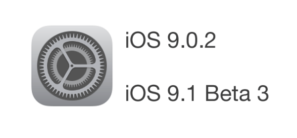 iOS 9.0.2 i iOS 9.1 Beta 3 do pobrania