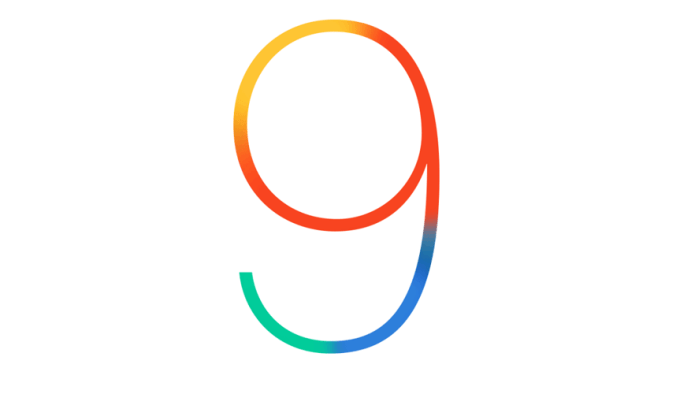 Logo systemu iOS 9