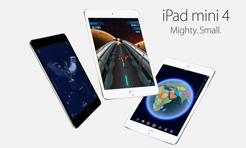 iPad mini 4 dostępny w polskim sklepie Apple Store