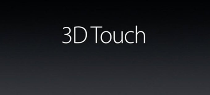iPhone 6s - technologia 3D Touch