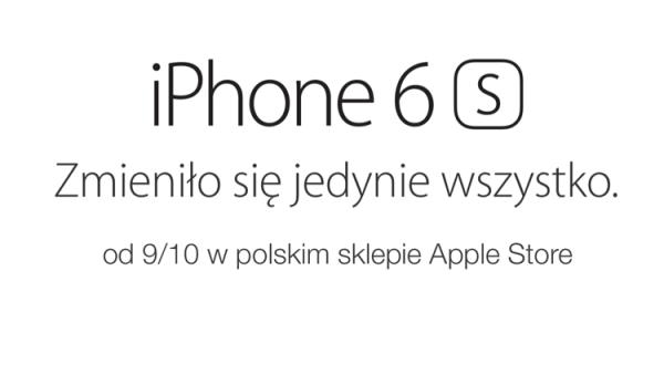 Nowy iPhone 6s i 6s Plus w polskim Apple Storze