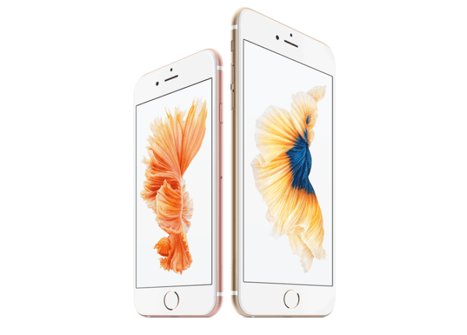 iPhone 6s i iPhone 6s Plus (białe)