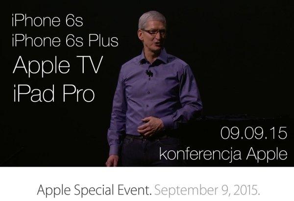 Nowości z konferencji Apple'a (wrzesień 2015)