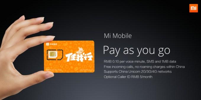 Mi Mobile - sieć komórkowa firmy Xiaomi - zapowiedź