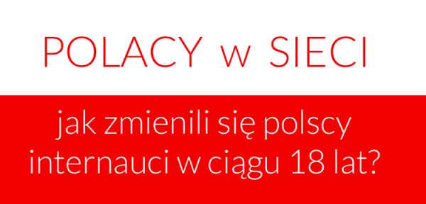 Jak zmienili się polscy internauci w ciągu 18 lat?