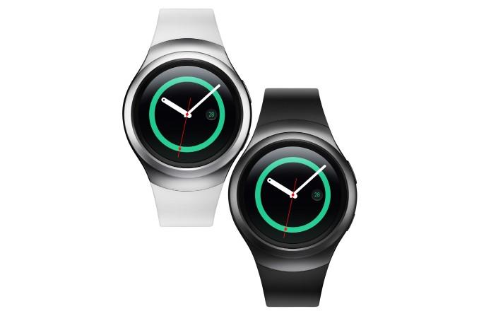 Samsung Gear S2 srebrny i czarny